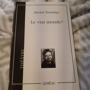 Other - Livre : Le vrai monde? (théâtre)